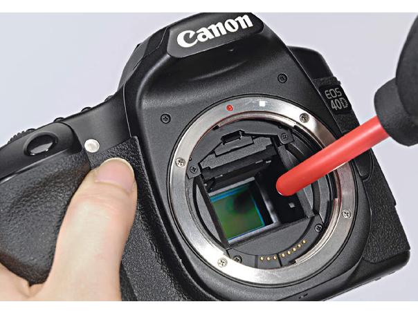 Чистка матрицы зеркального фотоаппарата