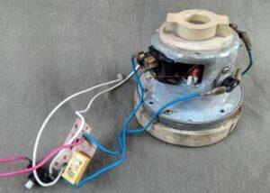 Ремонт двигателя пылесоса Samsung