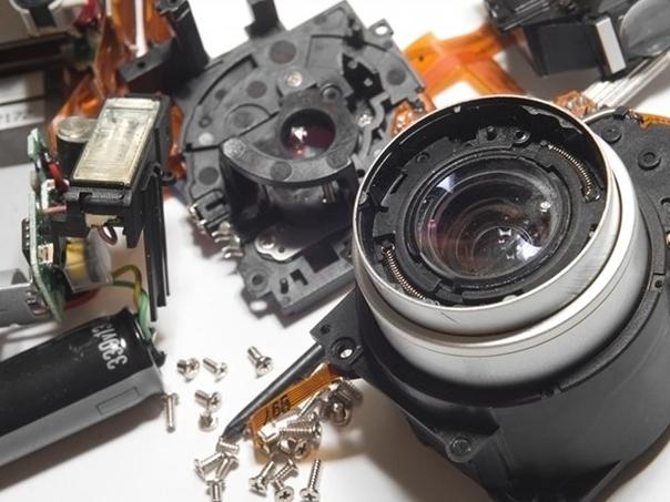 Ремонт объектива зеркального фотоаппарата