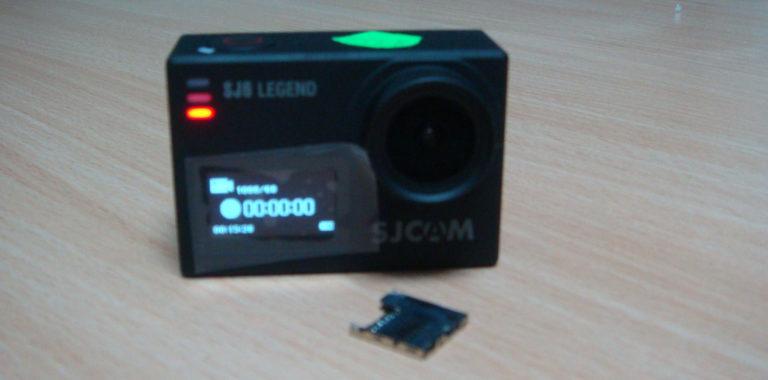 Ремонт экшн камеры SJCAM SJ6 Legend. Не работает от аккумулятора