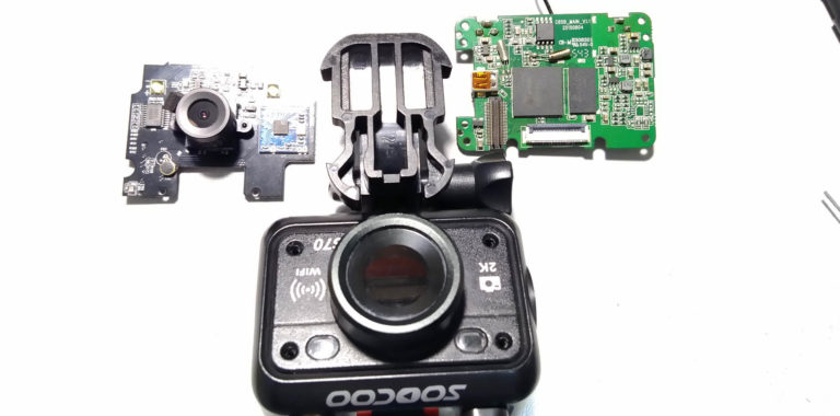 Ремонт экшн камер SooCoo S70