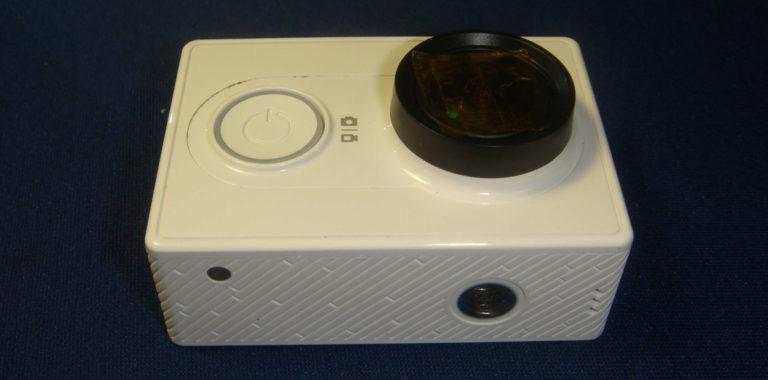 Ремонт экшн камеры Xiaomi YI после попадания воды
