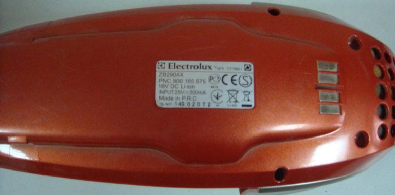 Ремонт беспроводных пылесосов Electrolux Ergorapido. Замена аккумуляторов
