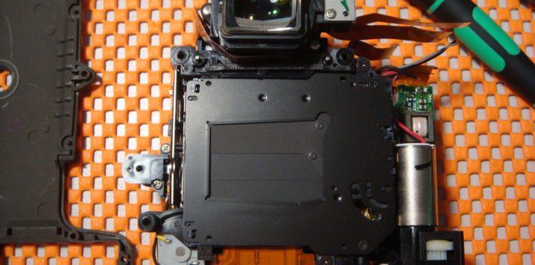 Замена затвора Nikon D90