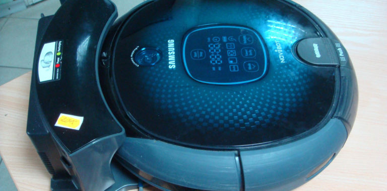 Ремонт пылесоса робота Samsung Navibot
