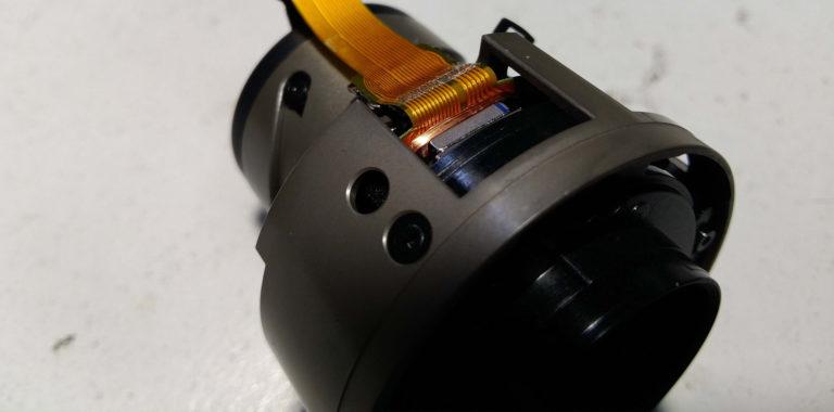 Ремонт объектива Sigma 17-70 mm. Замена шлейфа оптического стабилизатора