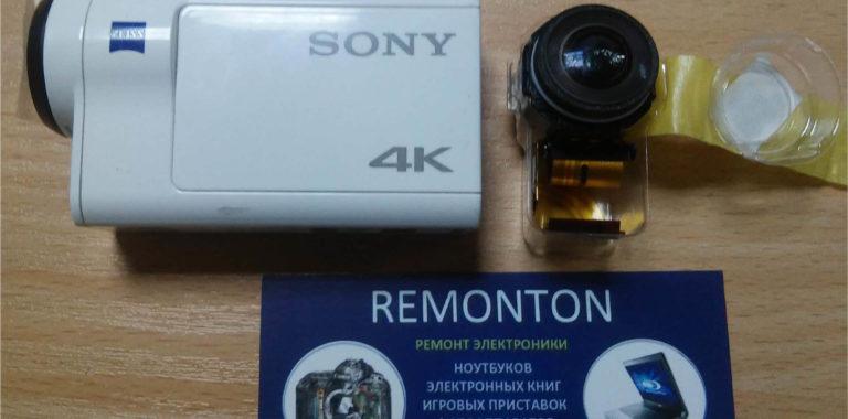 Замена объектива Sony FDR-X3000