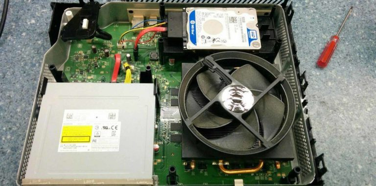 Ремонт XBOX 360. Профессиональная чистка и замена термопасты