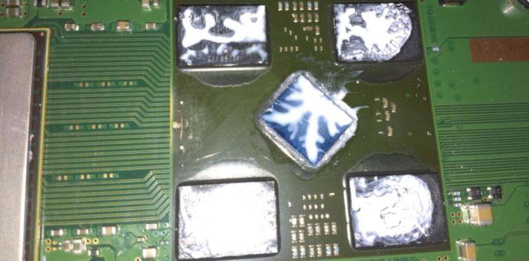 Ремонт Sony PlayStation 3. Замена видеочипа