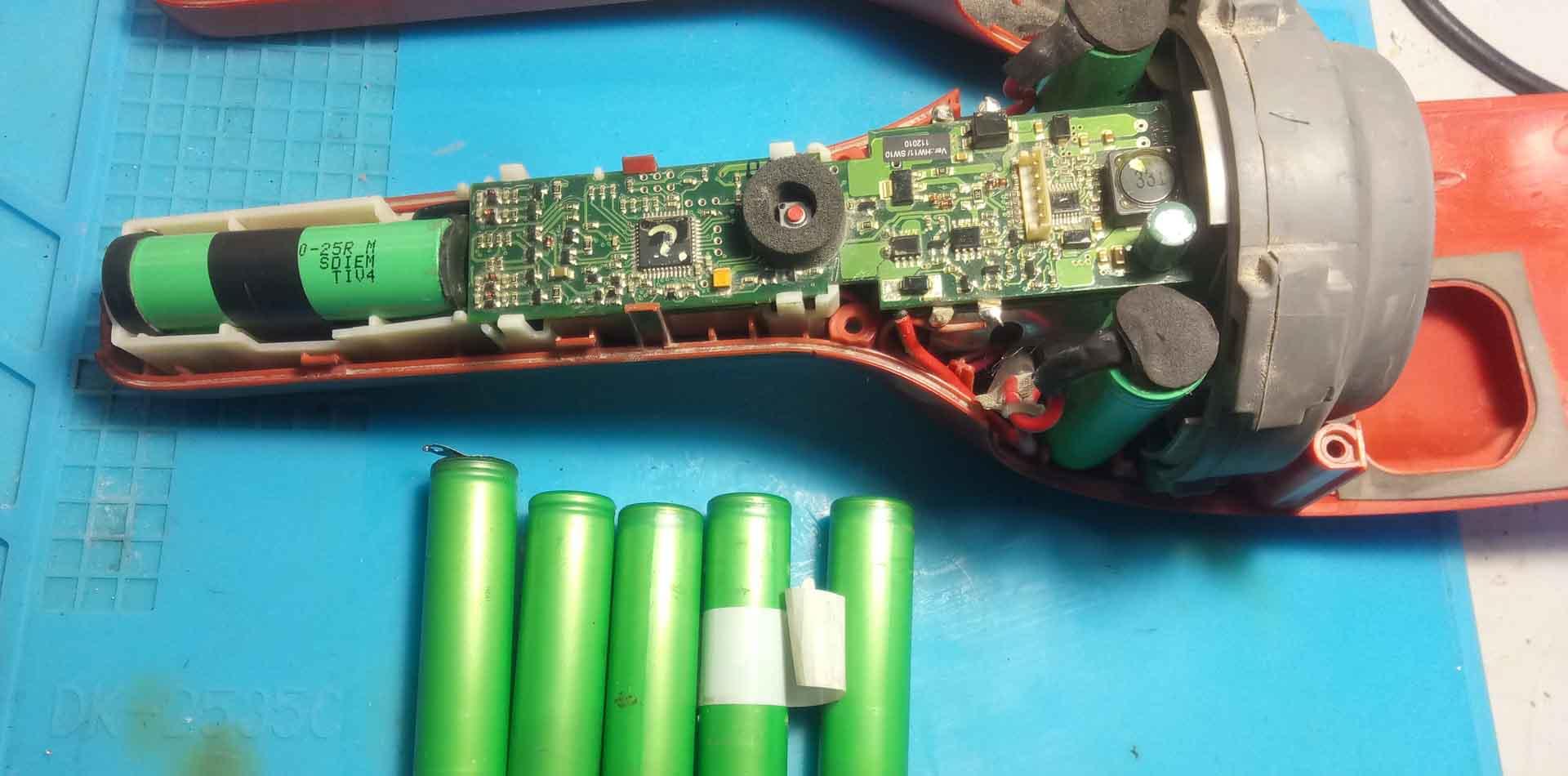 electrolux-zb2904x замена аккумуляторов