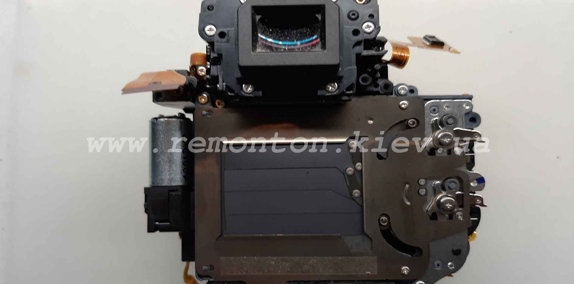 Ремонт Canon 6D -замена ламелей затвора