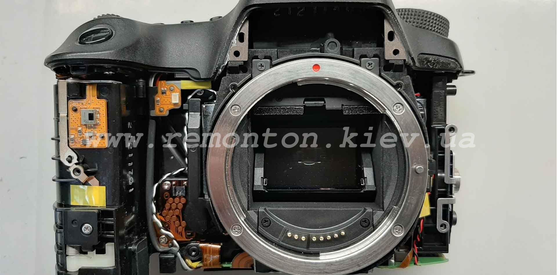 Ремонт Canon 6D - замена ламелей