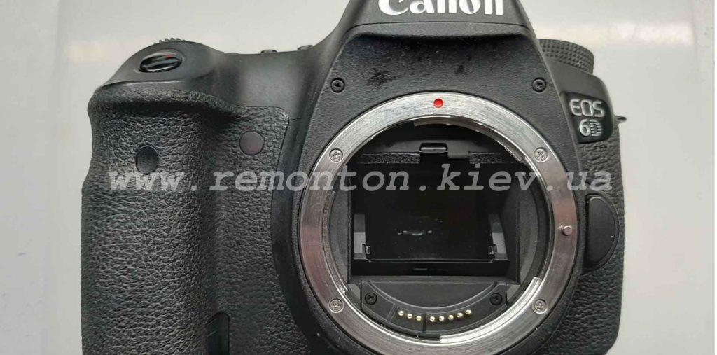 Ремонт Canon 6D - замена ламелей затвора
