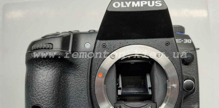 Ремонт Olympus E-30 – не видит карту памяти