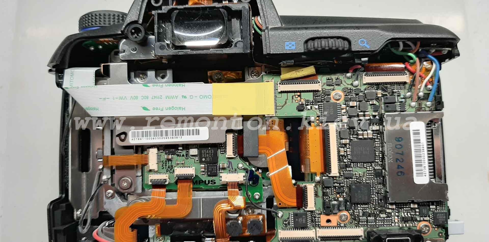 Ремонт Olympys E-30 не видит карту памяти