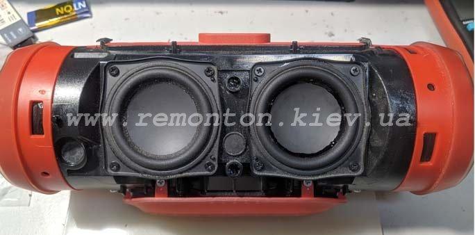 Ремонт JBL Charge 3 - хрипит звук