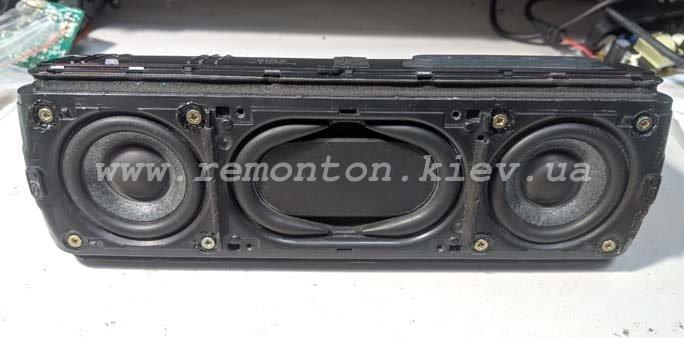 Ремонт Sony XB31- не включается, попадание воды