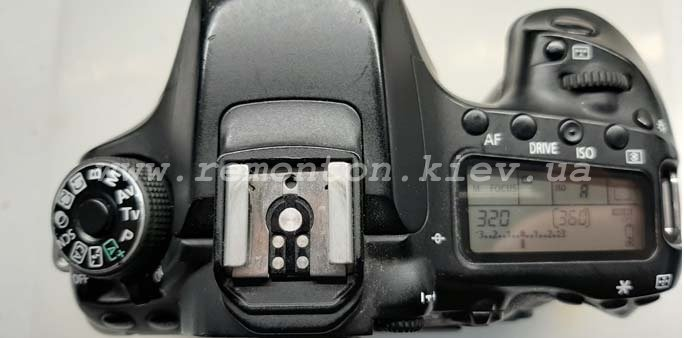 Ремонт Canon 80D - замена картридера