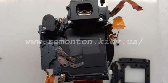 Замена ламелей Canon 450D