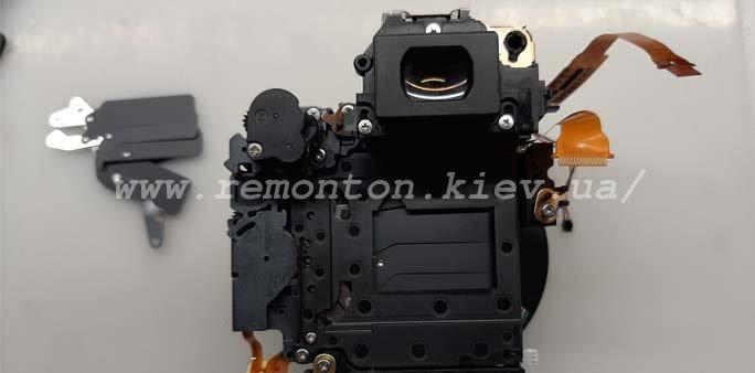 Замена ламелей затвора Canon 450D
