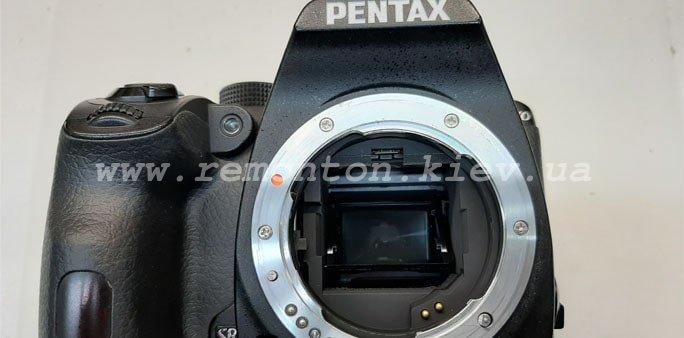 Ремонт фотоаппарата Pentax K70- делает темные фото