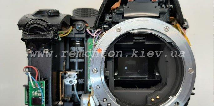 Ремонт фотоаппарата Pentax K70 - этапы ремонта