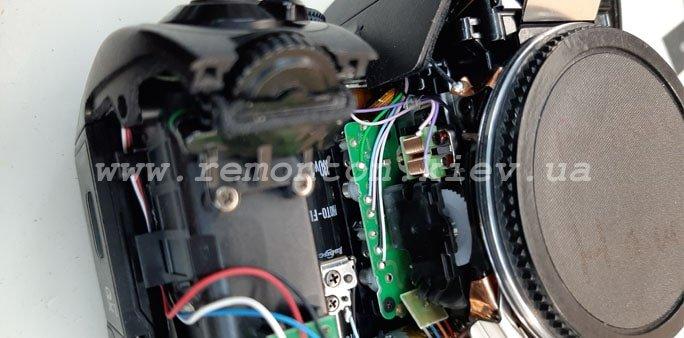 Ремонт фотоаппарата Pentax K70