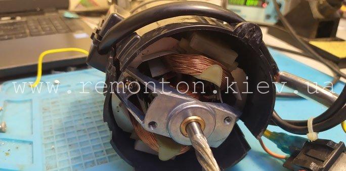 Замена двигателя Kenwood MG510