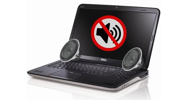 Ремонт ноутбука: пропал звук