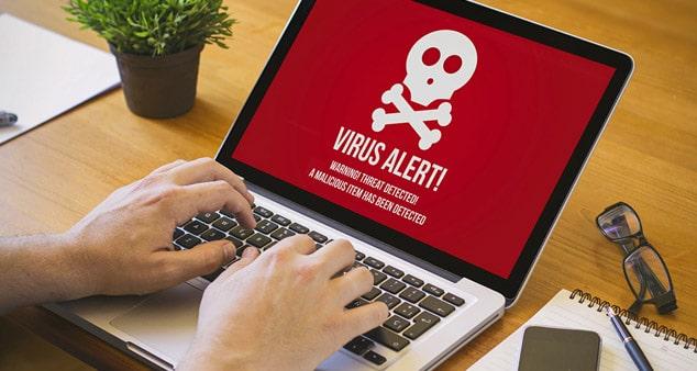 Вирус на ноутбуке - как не подхватить