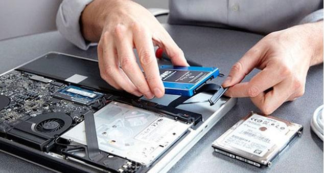 Ремонт ноутбука: проблемы с жестким диском