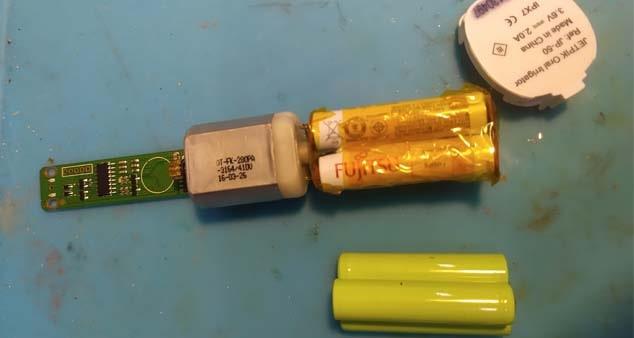 Ремонт зубной щетки Jetpik JP-50