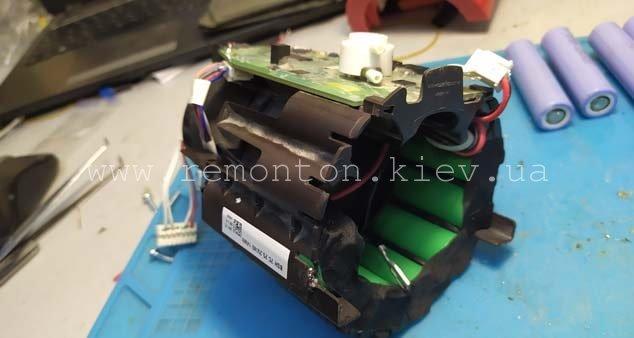 Ремонт пылесоса Bosch - замена батарей
