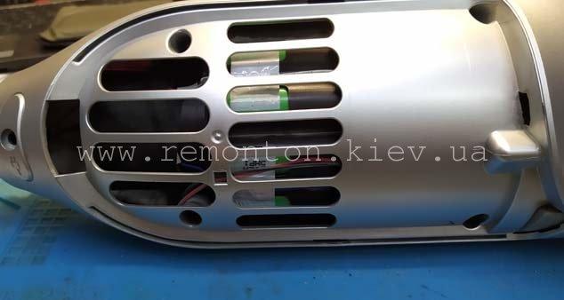 Ремонт аккумуляторного пылесоса Bosch BCH6ZOOO Zoo'o ProAnimal