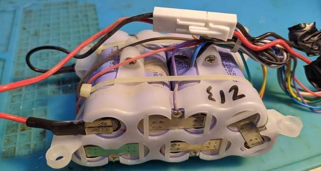 Ремонт аккумуляторного пылесоса Delonghi