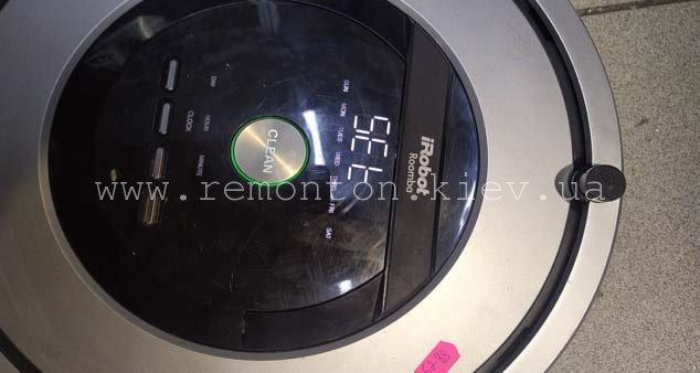 Ремонт Irobot Roomba 886 после попадания влаги