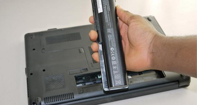 Что делать, если залилы ноутбук