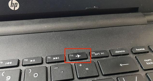 Кнока WI-FI на клавиатуре