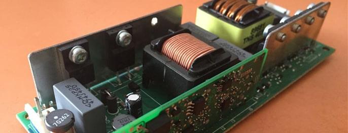 Балласт лампы проектора - схема