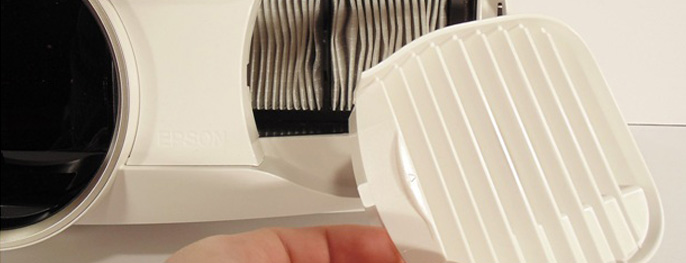 Чистка фильтра проектора