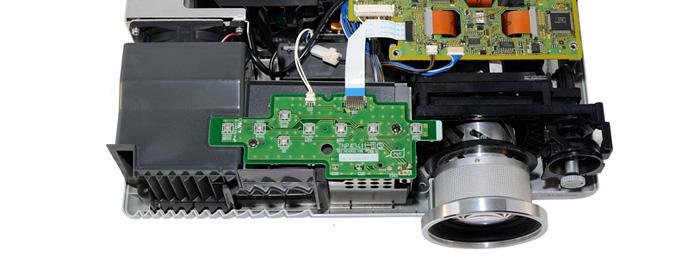 Чистка объектива в проекторе