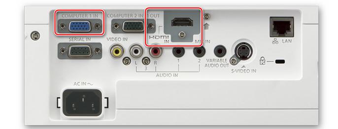 Ремонт HDMI разъема проектора