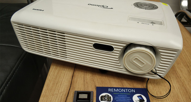 Замена DMD матрицы проектор Optoma HD67