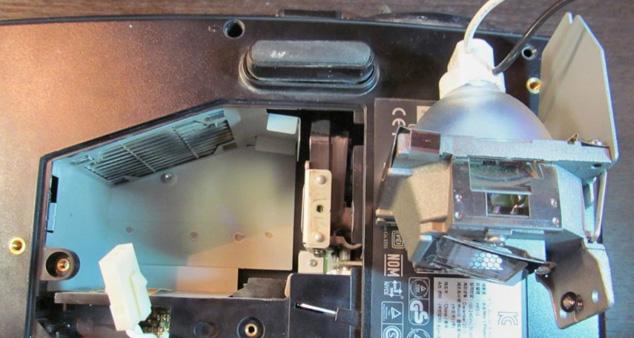 Замена лампы проектора Benq
